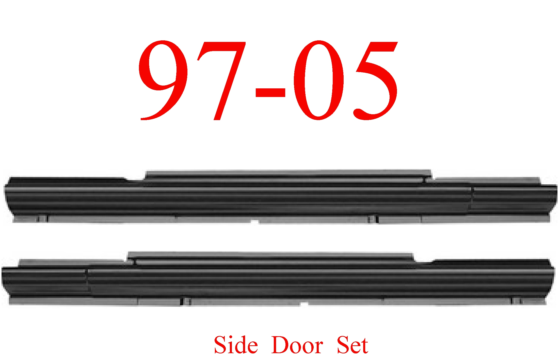 97-05 Chevy Venture Sliding Door Rocker Set